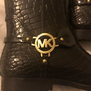 Michael Kors Fashion CROC Rain Boots! Brand new!